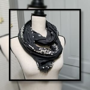 American Eagle Embroidered Infinity Scarf
